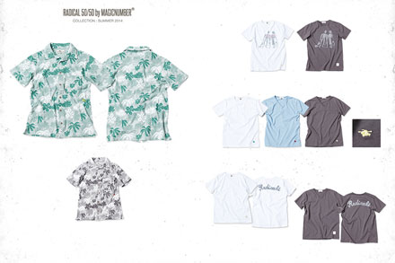 Magic NUMBER 2014 High Summer collection