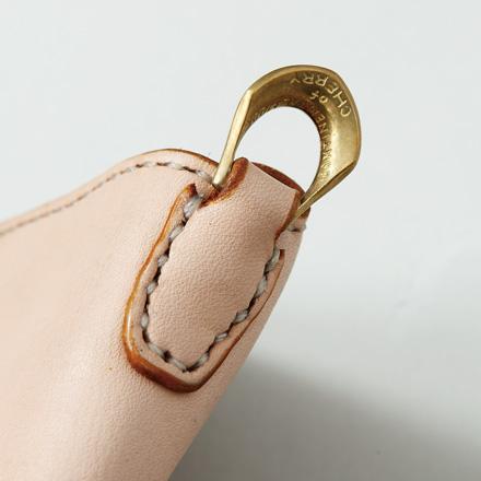 「Men's JOKER1月号」掲載 レザーシリーズ Leather Wallet w/Ring