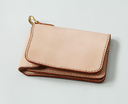 「Men's JOKER1月号」掲載 レザーシリーズ Leather Wallet w/Ring