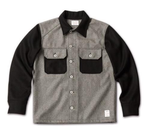 MAGIC NUMBER AW最新ITEM Wool Melton Shirts Jacket